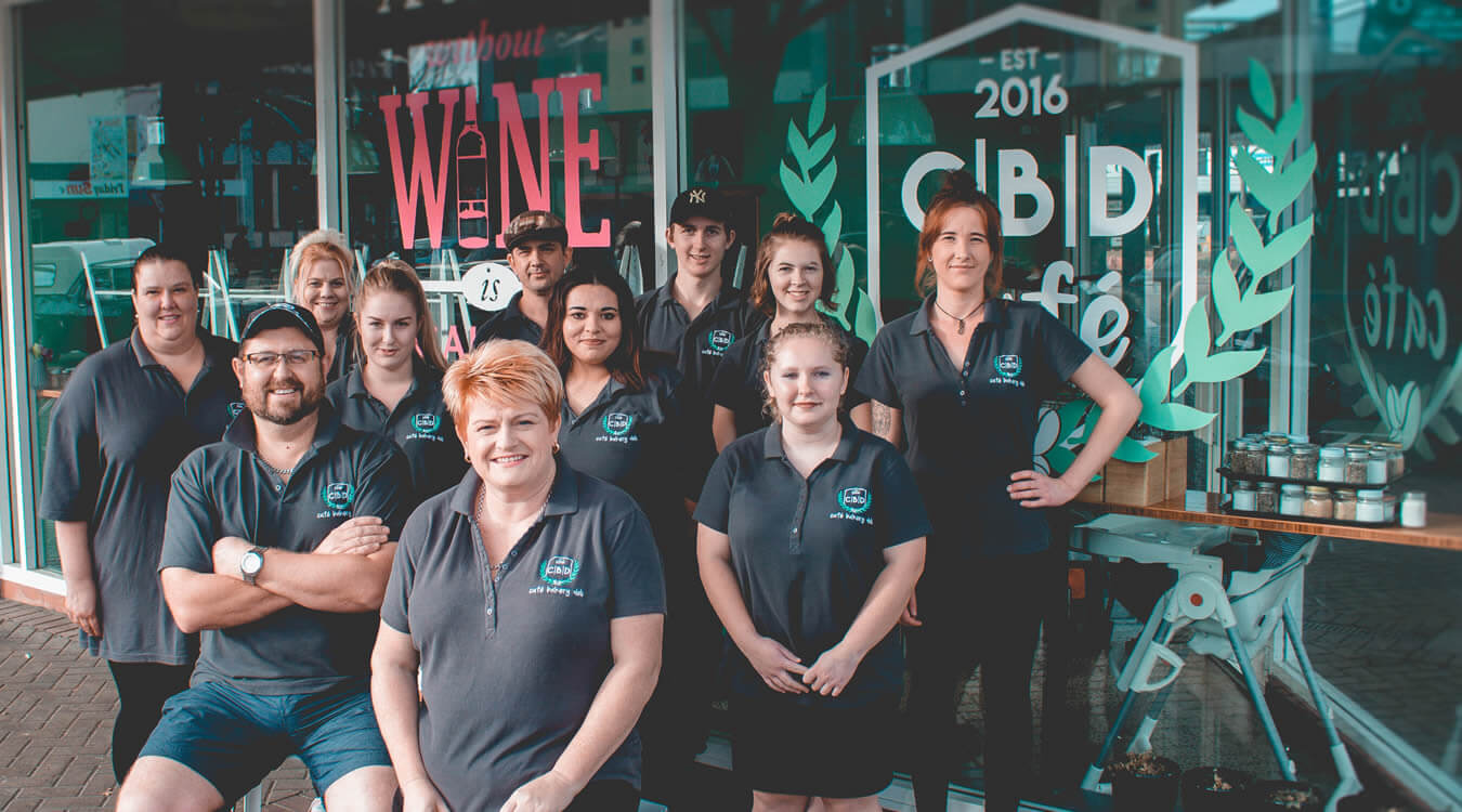 Staff At CBD Cafe In Blenheim